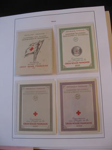 France 1955/2006 – Complete collection of Red Cross souvenir sheets