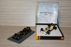 Spark - Scale 1/43 - Renault F1 1985 P. Tambay & Renault F1 presentation 2016