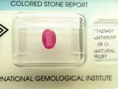 Ruby – 1,08 ct