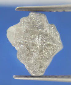 Rough diamond - 8.7 x 7.5 x 6.2 mm - 2.21 ct