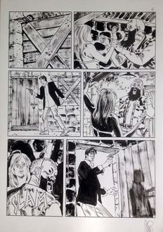 Stano, Angelo - original plate for Dylan Dog no. 277
