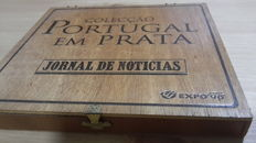 """Portugal – Collection of silver 925 medallions """"Portugal in Silver"""""""