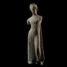 Greek Tanagra Female Figure - 230 mm
