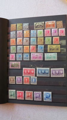Monaco: 1922/2011 – postage, airmail, booklets, souvenir sheets and precancels. Selection of stamps.