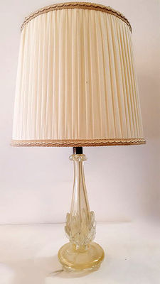 Floor lamp in the style of Tosso y Barovier, 1950, Italy