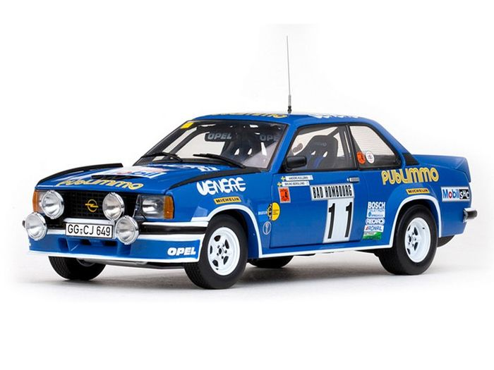 sun star scale 1 18 lot with 2 x opel ascona 400 rally models rallye monte carlo 1981 3rd. Black Bedroom Furniture Sets. Home Design Ideas