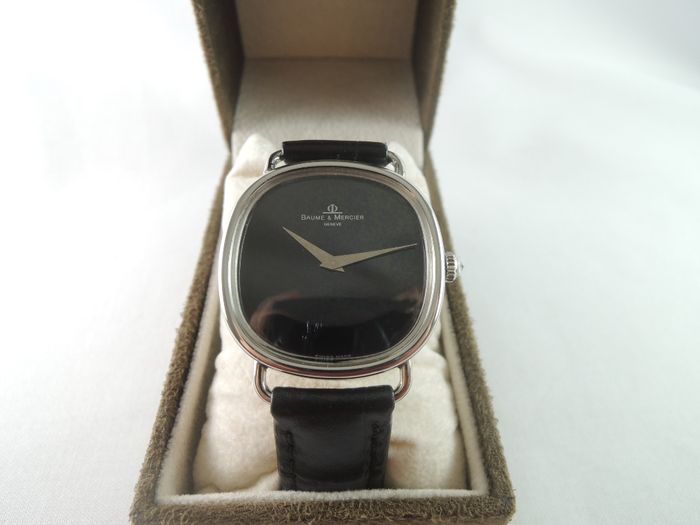 BAUME & MERCIER Geneve 1718 - men's wrist watch - 1970s