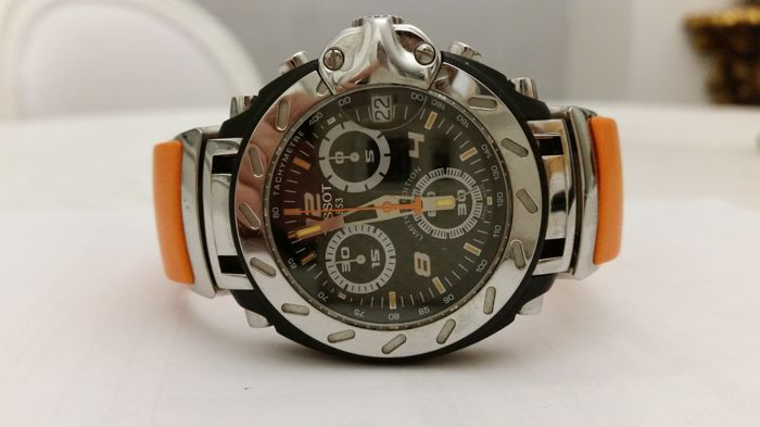3f210cbf3ea Tissot T-race Nicky Hayden Limited Edition. Men s wristwatch 2007. No. 482