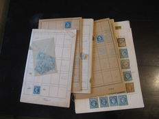 France 1862/1870 – Collection of classics including cancellation study of large figure numbers