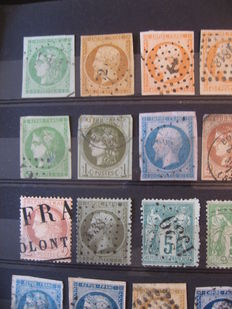 France 1860/1900 - Collection of classics