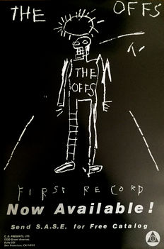 Jean-Michel Basquiat - The Offs, First Record