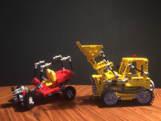 Technic - 856 + 8845 - Bulldozer + Dune Buggy