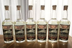6 bottles - Turning point Carolina Rye whiskey
