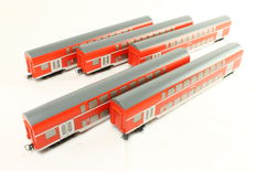 Roco Playtime H0 - 54500 - 5 double-decker 2nd class of DB