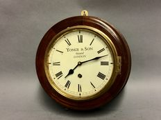 Small model pub clock – Wood – 20th century
