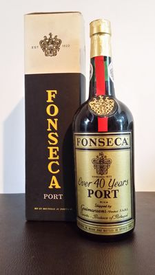 Porto Fonseca over 40 years old - bottled in 1969