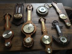 Collectie oude barometers