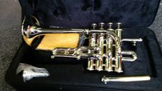 Piccolo Trumpet ChS PTR3110N with solid case, Bb