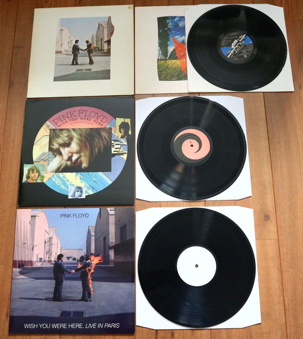 Pink Floyd- rare lot of 3x Wish You Were Here: Wish You Were