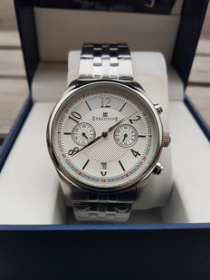 Executive Button Down Dual Time  - Herenhorloge - 2017