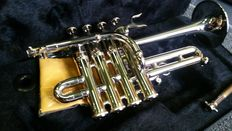 Piccolo Trumpet ChS PTR310N with solid case, Bb