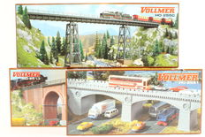 Vollmer H0 - 2513/2550/2551 - 3 Viaducts / bridges