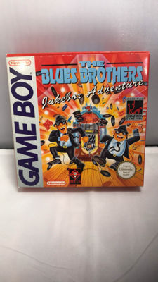 Rare nintendo game boy vlassic The Blues Brothers mint condition - extremely hard to find