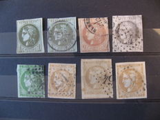 France 1871 - Collection of Bordeaux type