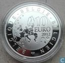 "België 10 euro 2012 (PROOF) ""Paul Delvaux - 30 years St. Idesbald Museum"""