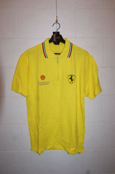 "Exclusive Polo ""Shell-Ferrari"" in Shell Yellow color, Silverstone 2001"