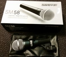 New dynamic vocal microphone SM58