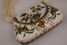 Cloisonné object – wallet (bag) – China – second half 20th century