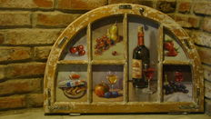 "Unknown (20th century) -  "" Wine additives in the window"""