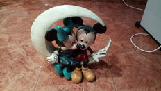 Disney, Walt - Figurine - Mickey and Minnie Mouse in the Moon (ca '60/'70)