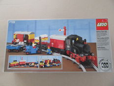 Trains 4,5V - 7722 - Steam Cargo Train, battery