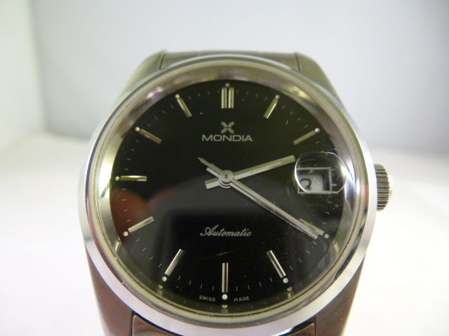 Mondia – Men's watch – 1980-1989