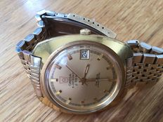 OMEGA ELECTRONIC  F 300 Hz Geneve Chronometer, Gents Wristwatch 1970s