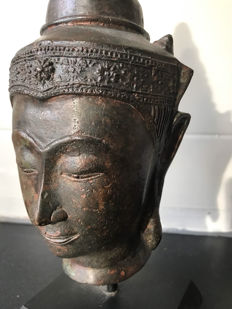 Decorative Buddha head - Thailand - second half of the 20th century