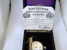Henri Hoffmann. pocket watch Swiss circa 1870