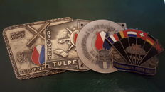 Original Tulpen Rallye badges - 1950s 1960s