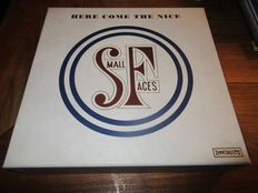 """Small faces Here come the nice (4 x CD + 4 x 7""""inches + posters + postcards etc.) Box-set"""