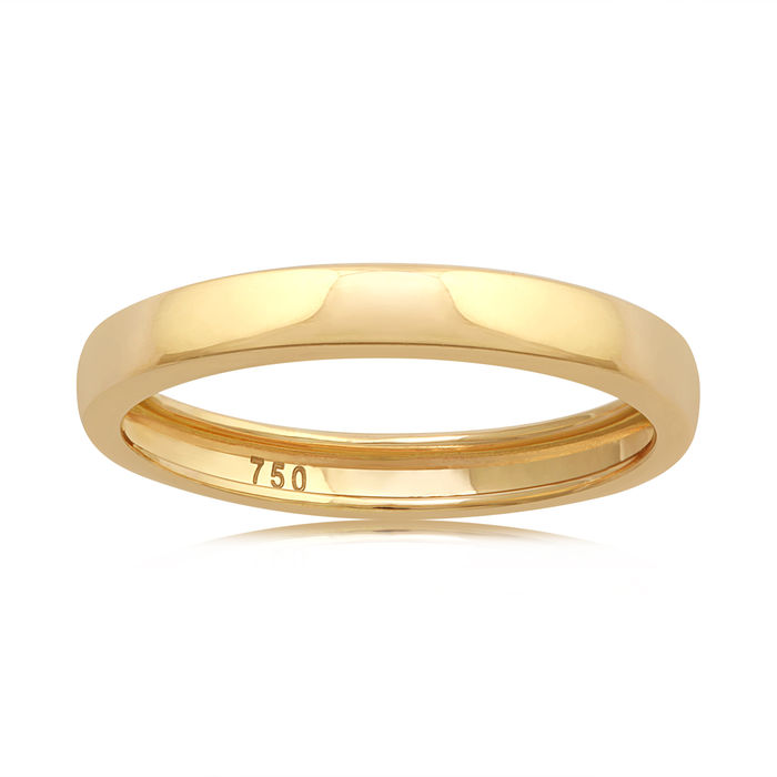 No Reserve Price Wedding Band In 18kt Yellow Gold Catawiki