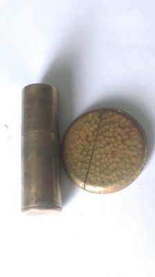 "2 lighters ""Poilu"" of war 1914/1918 WW1"