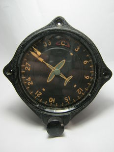Original russian air compass UK - 1 - 60 s from airplane MIG