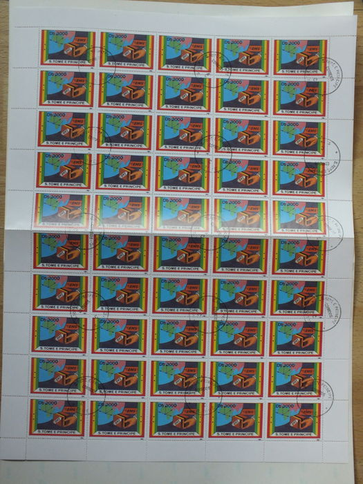 Sao Tome and Principe 1991 - Express stamp - Michel 1301