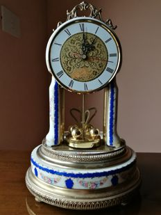 A porcelain clock approx. 20th century Limoges signed original