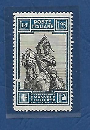 Italy, 1928 – Emanuele Filiberto – Sassone catalogue # 235/I