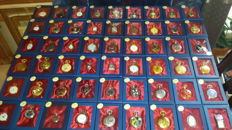 Lot of 54 new pocket watches.