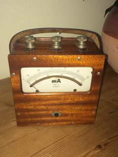 Measuring device milliampere meter mA - 1930 company Norma