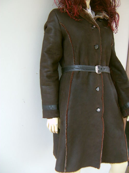 Piero Guidi - Cappotto in vera pelle montone - Catawiki 8fe5bba799e